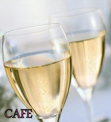 Enjoy a drink - Coffee, wine or champagne?
